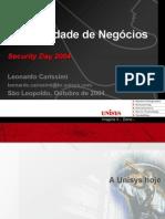 Leonardo Carissimi Security Day
