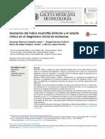 indice neutrofilo-linfocito