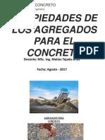 393694979 CLASE 04 Propiedades de Los Agregados Para El Concreto