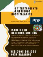 Manejo y Tratamiento de Residuos Hospitalarios