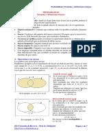 Probabilidad - Definiciones basicas