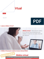 Medico Virtual RIMAC Comunicado Corredores
