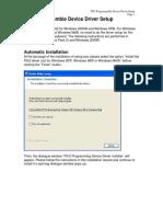 PS2 Keyboard Driver Setup Manual