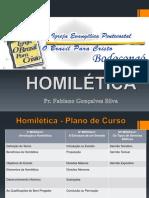 PLANO DE CURSO HOMILETICA