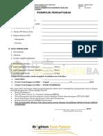 Formulir Pendaftaran Diklat PPSDM GEOMINERBA 2019.pdf