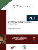 DERRAMES DE PETRÓLEO EN EL OCÉANO
