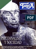 Etica Psicoanalisis y Sociedad