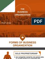 The Business Organization