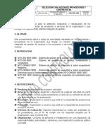 Pro-ga-002 Seleccion Evaluación de Proveedores y Contratistas