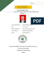 CJR Filsafat Pendidikan Ilham