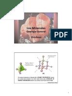 2ª y 3ª Clase - Los Minerales