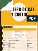 MORTERO DE cal y caolin.pptx