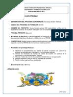Guia de Aprendizaje No 3 Manejar Valores e Ingresos Relacionados Con La Operación Del Establecimiento.