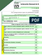 Formulario Retencion 350-20141