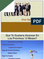 Presentacion de Oportunidad Sin Montos 2014-2015