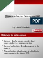 1. El Bombeo Electrosumergible (L Sevillano)