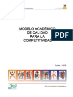 Modelo Academico de Calidad para la Competitividad