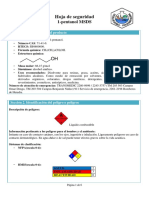 1-Pentanol (4 Hojas)