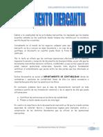 Trabajo Comprobantes de Pago - Reglamento (1)