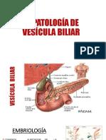 Patología Quirúrgica de Vesícula