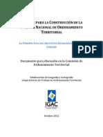 Aportes para la construccion de la politica nacional de OT - IGAC.pdf