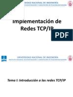 Curso 1 Implementación de Redes Tcp-ip 2