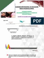 Estrategia Operativa Estatal Evaluación Diagnostica 2019 Directores