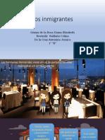 Los Inmigrantes Historieta