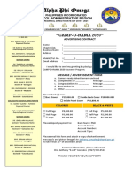 Souvenir Program Contract