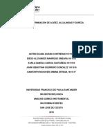 _informe Determinación de Acidez, Alcalinidad y Dureza2