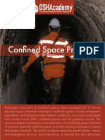 Confined Space Program