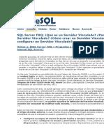 SQL Server FAQServidoresVinculados