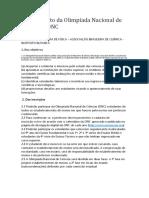 Regulamento ONC