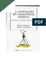 La construcción del conocimiento histórico - Carretero