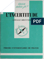L'Incertitude-Presses Universitaires de France (1997)