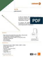 Ficha Tecnica LED Tube T5