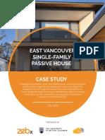 Passivehaus Example 1