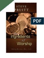 IngredientsOfWorship