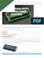 Display LCD com Sensor de Presença - .docx