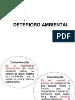 Clase No. 6. Deterioro Ambiental I 21-09-2018