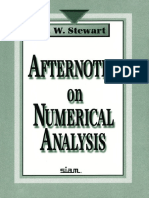 [G. W. Stewart] Afternotes on Numerical Analysis (Z-lib.org)