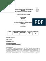 Martínez de La Escalera, Ana María Estética 1 2020-1