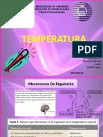fisiopato temperatura