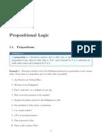 Unit 1 Propositional Logic