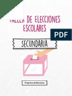 Taller de Elecciones Electorales Para La Sociedad de Estudiantes