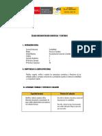 I SEM CONTABILIDAD 7 Silabo Documentacion Comercial y Contable