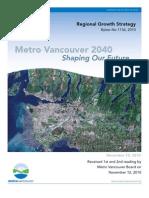 Metro Regional Growth Strategy Nov 2010
