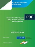 01 Manual Del Codigo de Etica IFAC_IESBA_Edicion 2014
