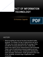 The Impact of Information Technology Chapter 4