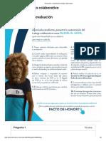 Evaluación_ Sustentación Trabajo Colaborativo CALCULO II